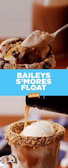 Baileys S'mores Floats