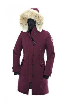 Billige Canada gås jakker Toronto Outlet salg nettbutikk, 100% Canadisk laget, gratis hansker som... Canada gås UNGDOM KENSINGTON PARKA rød.