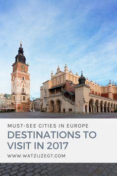 KRAKOW  // 10 CITYTRIPS IN EUROPE // Destinations in Europe to visit in 2017 // 10 stedentrip bestemmingen in Europa