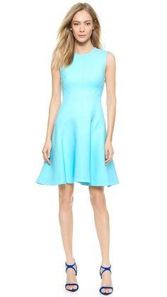 Lela Rose Seamed Sheath Dress