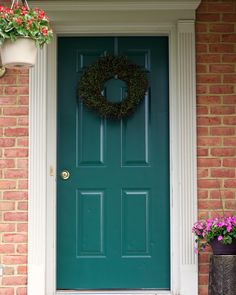Want To Give Your Faded Front Door New Life Try A Coat Of Paint