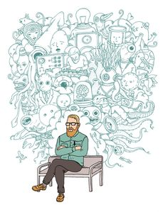 Only boring people get bored - Creative Social- Best Piece of Advice Ever book