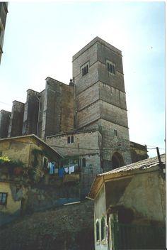 Town of Zumaya, Guipuzcoa--Church:  San Pedro