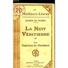 Oude editie van La nuit vénitienne