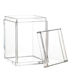 Plastikbehälter | Klarglas | Home | H&M DE 5,99