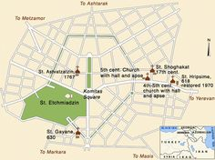 Map of Etchmiadzin