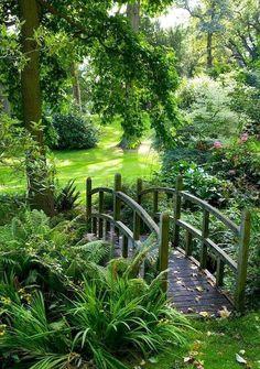 Garden Paths, Garden Bridge, Moss Garden, Flowers Garden, Garden Planters, Garden Paving, Garden Soil, Garden Table, Pond Bridge