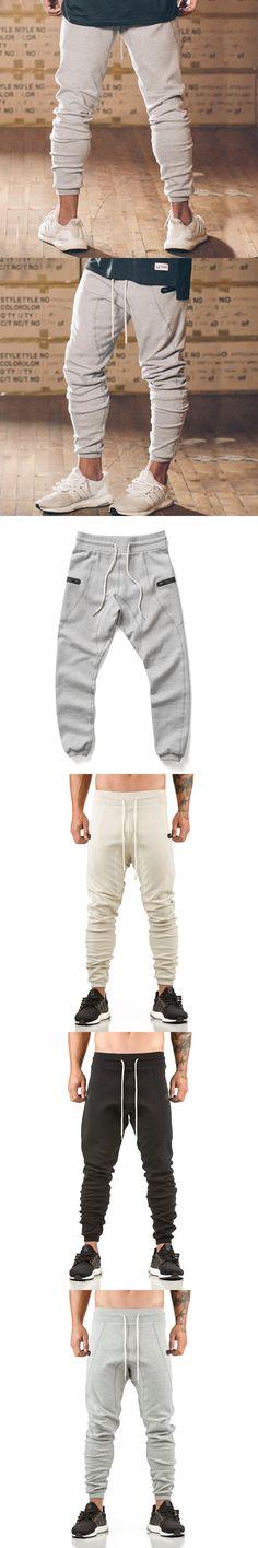 2017MAIKANONG Men's AthleticPants Workout Cloth Sporting Active Cotton Pants Men Jogger Pants Sweatpants Bottom Legging