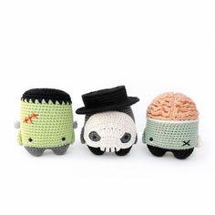 4 Seasons Halloween Special Amigurumi Pattern