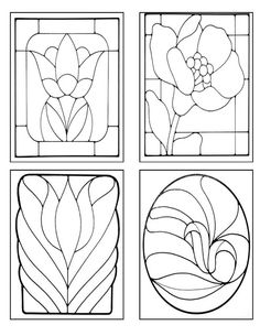 Stained Glass patterns