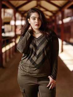 c6a72a0e93c Introducing Nadia Aboulhosn collection exclusively for Addition Elle. Plus  size blogger