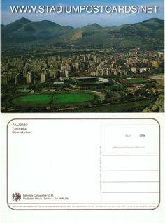 € 1,50 - code : ITA-034 - Palermo - La Favorita - stadium postcard cartolina stadio carte stade estadio tarjeta postal