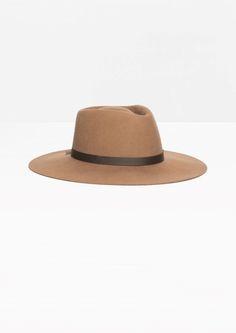 & Other Stories | Wide Brim Wool Hat  (SALE)