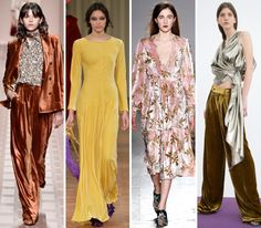 The Top 11 Trends of MFW and How to Wear Them Now - Viva la Velvet from InStyle.com