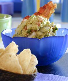 Feliz Cinco de Mayo! Bacon Guacamole by Ingrid Hoffman. #food #recipe