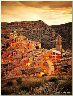 Sunset in Albarracin, Teruel | Flickr - Photo Sharing!