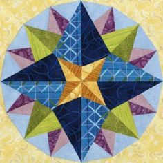 Adhara Quilt Block Pattern. LOVE this site for buying and downloading quilt patterns!