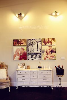 Great idea for a collage of large pictures. Great job http://thepicseeblog.com. We love printing large scale canvases here at canvas press.