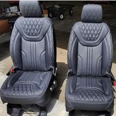 Image may contain: 1 person, sitting Car Seat Upholstery, Car Interior Upholstery, Automotive Upholstery, Custom Car Interior, Car Interior Design, Truck Interior, Jeep Wrangler Interior, Pajero, American Racing Wheels