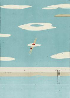 piscina : illustration by SHOUT : www.dutchuncle.co.uk/shout-images