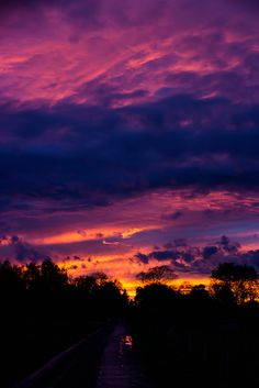 """neptunesbounty: """" Colorful sunset by Susanne Nilsson """" Pretty Sky, Beautiful Sunset, Landscape Photography, Nature Photography, Sunset Wallpaper, Sky Aesthetic, Sunset Pictures, Pink Sky, Pretty Wallpapers"""