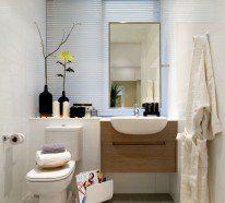 bagni-moderni-piccoli-parete-effetto-legno | bagno | pinterest - Immagini Bagni Moderni Piccoli