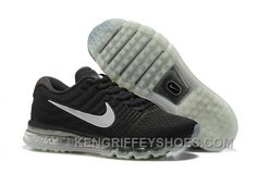 classic fit e98e1 9baf9 Authentic Nike Air Max 2017 Black Grey Copuon Code ZkRDdEn