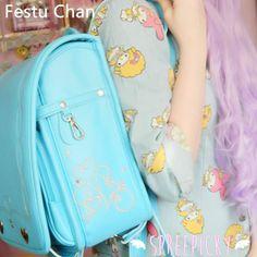 {Free Worldwide Shipping} Randoseru Japanese High Quality Multi Color Super Kawaii School Bag Backpack SP130157