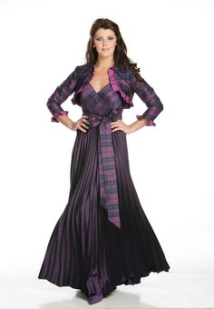 9ce43b1474 Tartan Wedding Dresses - Heather Wedding Dress - Joyce Young By Storm