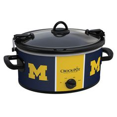 Michigan Wolverines Collegiate Crock-Pot® Cook & Carry™ Slow Cooker