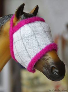 Easy DIY Model Horse Fly Mask