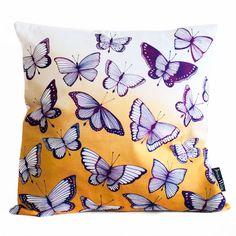 'Flutter' Butterfly Throw Cushion