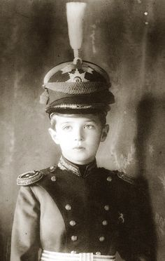 Alexei Romanov who suffered the effects of an hereditary illness, Hemophilia, through out his brief life. It was an acquired hereditary condition of some of the European Nobility.