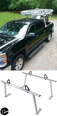 The rack fits your Chevy Silverado truck bed securely and utilizes good hardware that will last a long time. This truck bed rack will fit most trucks but shown here on a SIlverado. The rack has a built in hand tightening knobs for quick adjustments.