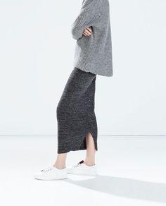 MINIMAL + CLASSIC: Casual Chic #adidas #skirt