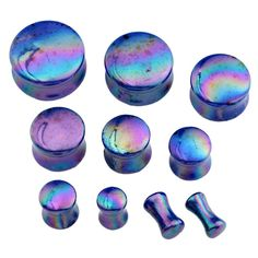 Hot Acrylic Ear Tunnels Plugs Fashion Body Jewelry Earlet Expander Plug 2-12mm Ear Gauges Earring Stud Hollow Plug