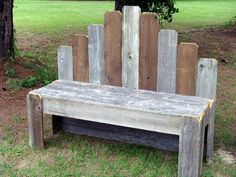 Make your garden more amusing by making it accomplished with a perfect sitting through this DIY pallet garden bench, raised in very arresting and spellbinding