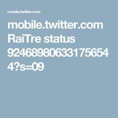 mobile.twitter.com RaiTre status 924689806331756544?s=09