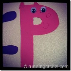 Preschool Letter of The Week Curriculum and Crafts - Letter P - Pink Pig