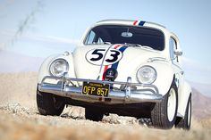Depending on your age, you may or may not remember #Herbie: the love bug -- a version of a #Volkswagon #Bug.