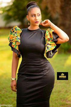 Buy All Black Dashiki Dress Kente at Africa Blooms. Shop Dashiki Ankara Dress and modern African dresses online. Find womens dashiki plus size wedding dress African Dresses Online, Latest African Fashion Dresses, African Print Dresses, African Print Fashion, Modern African Dresses, African Prints, African Attire, African Wear, African Women