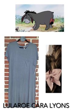 Be comfortable and stylish this Halloween with a costume brought to you by Lularoe Cara Lyons! Find all you need for this Halloween season and every day at https://www.facebook.com/groups/LularoeCaraLyons/ #Lularoe #LularoeRetailer #FallFashion #Fashion #WomensFashion #Halloween #HalloweenCostume #CostumeIdeas #HalloweenIdea #HappyHalloween #LularoeHalloween #Disney #DisneyHalloween #Eeyore #WinnieThePooh #LularoeCarly #LularoeDress #Costume #Costumes
