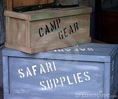 safari crates   Josephine's 1st Birthday Party!   Pinterest ...