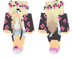 Résultats de recherche d'images pour «minecraft girl skin pe»