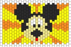 Mickey Mouse Cuff bead pattern