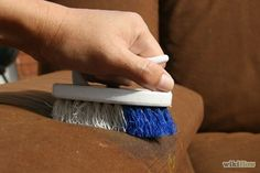 Clean a Microfiber Upholstered Sofa