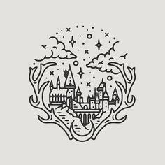 """5,004 kedvelés, 93 hozzászólás – Liam Ashurst (@liamashurst) Instagram-hozzászólása: """"Did a Hogwarts piece because I'm still in Harry Potter mode after Fantastic Beasts yesterday! 🏰…"""""""