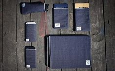 MS&Co. Selvedge Sleeves for Laptops, iPhones, Etc