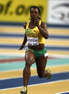 International athletes to watch - Veronica Campbell-Brown, Jamaica, track and field