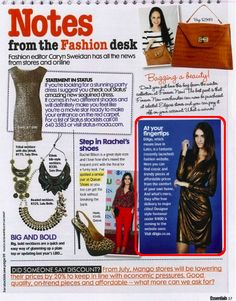 Diligo.co.za online feature in Essentials Magazine Essentials Magazine, Fashion Editor, How To Make
